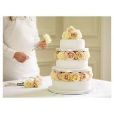 traditional wedding cake marks u0026 spencer change the flowers to