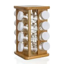 portaspezie legno portaspezie design legno acciaio e vetro lo stile in cucina