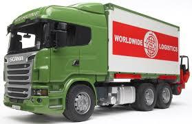 bruder garbage truck toy forklift ebay
