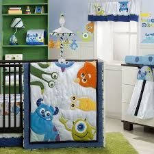 Boy Nursery Bedding Set by Monsters Inc 4 Piece Premier Crib Bedding Set Disney Baby