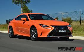 red lexus 2015 2015 lexus rc 350 f sport review video performancedrive