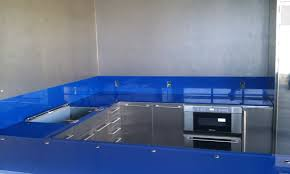 Blue Glass Kitchen Backsplash Bathroom Extraordinary L Shape Red Kitchen Decoration Using Small
