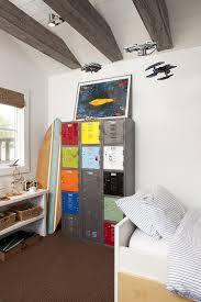 cheap kids lockers 30 trendy ways to add color to the contemporary kids bedroom