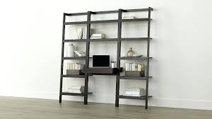 Ikea Bookcase And Desk Bookcase Leaning Ladder Bookcase With Desk Ikea Bookcase With