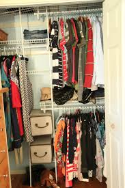 ideal interior design of small walk in closet ideas with rack and