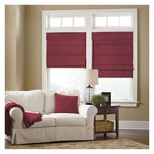 Jcpenney Blackout Roman Shades - roman shades red energy efficient u0026 blackout for window jcpenney