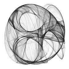 drawing 10 million points with ggplot clifford attractors