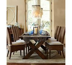 Pottery Barn Dining Room Lighting by Capiz Chandelier Pottery Barn
