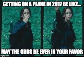 Hunger Games Meme - united airlines hunger games imgflip
