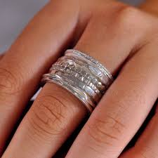 worry ring wide spinner ring anxiety rings meditation band worry