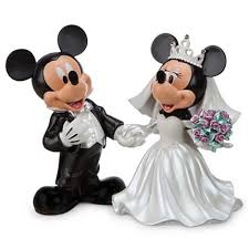 mickey and minnie wedding your wdw store disney medium figure statue mickey and minnie
