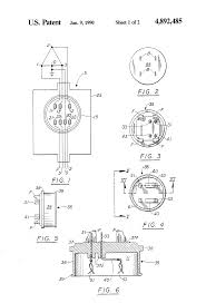 patent us4892485 adapter plate for converting a three phase