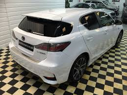 lexus ct200h bhp second hand lexus ct 200h 1 8 f sport 5dr hybrid cvt auto for sale