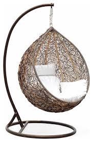 pretty bedroom swing on outdoor wicker swing chair the great