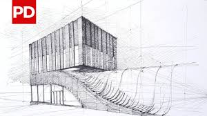 drawing termeh office commercial building daily architecture