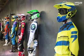 kawasaki motocross helmets 2016 shift mx gear introduction in photos motorcycle usa