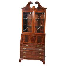 Secretary Desk Bookcase Lanmr Page 3 Corner Cabinet Bookcase For Home Storages Mahogony