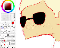 freckles in paint tool sai by wolphies on deviantart