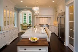 Lighting In Kitchen Ideas Impressive Puck Lightsin Kitchen Rustic With Elegant Wood Beam