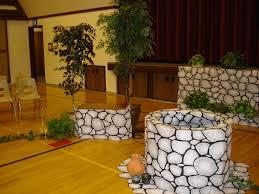 halloween scene setters room rolls rock wall patterned flat paper shindigz