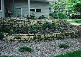 Garden Walls And Fences by Stone Retaining Walls Halcyon Landscape Service 715 308 8102 Or