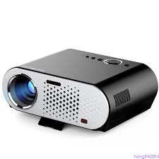 smart home theater projector gp90up hd led projector home theater smart tv box wifi bluetooth