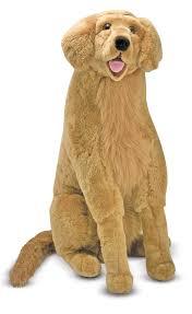 belgian shepherd stuffed animal melissa doug giant golden retriever lifelike stuffed animal dog