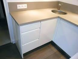 evier de cuisine d angle plan de travail d angle pour cuisine cuisine avec evier d angle