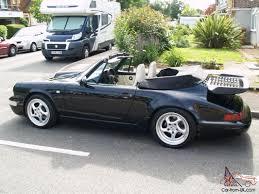 1990 porsche 911 carrera 2 porsche 911 carrera 2 convertible black cream interior 1990 89200