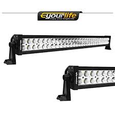 led security light bar led light bar eyourlife 52 inch light bar 300w 30200lm flood spot