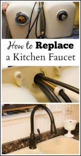 how to replace a kitchen faucet apartment dwellers live with
