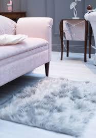 Laura Ashley Pink Rug Laura Ashley Press Show Ss17 Grey Sheepskin Rug Fluffy Rug New