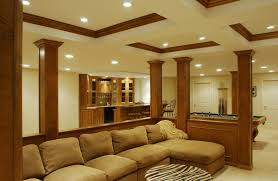 finished basement with exposed ceiling joshua and tammy