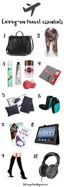 10 Must Carry On Essentials by Best 25 Airplane Essentials Ideas On Carry On