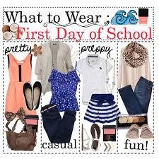what to wear first day of by cheri