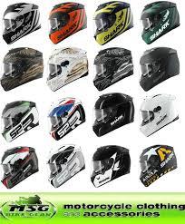 speed r sauer shark speed r motorcycle crash helmet all colours sizes ebay