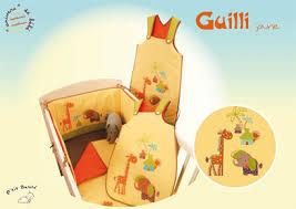 stickers savane chambre bébé collection guilli jaune de p basile chambre bébé guilli jaune