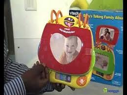 Talking Photo Album V Tech Baby U0027s Talking Family Album Youtube