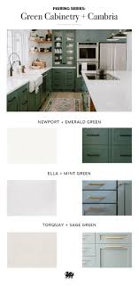 green kitchen cabinets with white countertops refine define 7 gorgeous green kitchens farmhouse