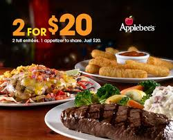 everyone s excited to try applebee s 2 for 20 menu