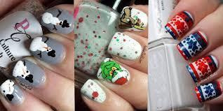 nail u2014 15 cool simple u0026 easy winter nail art designs u0026