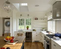 Washer And Dryer Cabinet Washer And Dryer In Kitchen Houzz