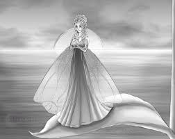 fairy by the ocean sketch by flyingpony on deviantart