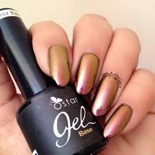 uma u0027s nail art ostar rose gold chrome powder review and swatches