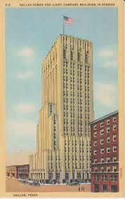 texas power and light company art deco architecture