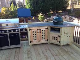 Green Egg Kitchen - big green egg custom kitchen sandy springs atlanta curb appeal