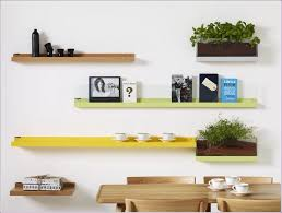interiors magnificent wood shelves with metal brackets