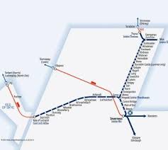 kyle map great scenic rail journeys route map for far and kyle lines