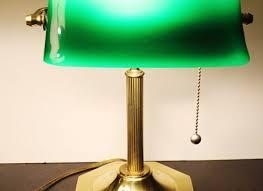 antique lamps green glass brilliant green desk lamp vintage