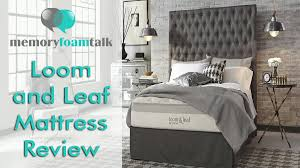 loom and leaf review best mattress of 2017